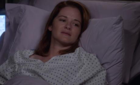 April in Bed - Grey's Anatomy Season 13 Episode 1
