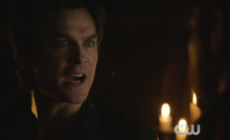 The Vampire Diaries Sneak Peek: Damon in Denial