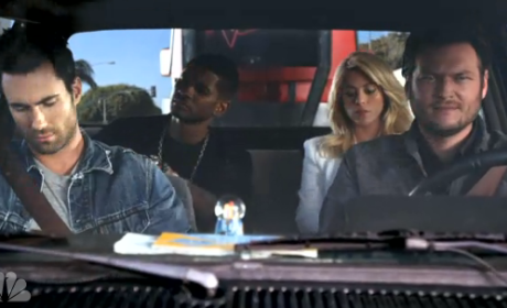 The Voice Season 4 Promo: Welcome, Usher and Shakira!