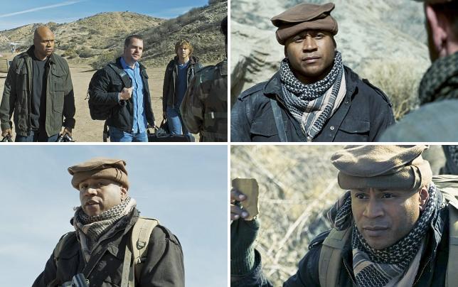 Sam callen and deeks arrive in afghanistan