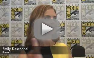 Emily Deschanel Comic-Con Interview