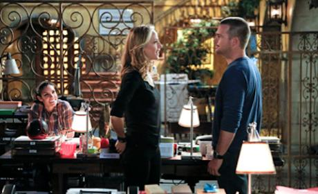Kim Raver and Chris O'Donnell