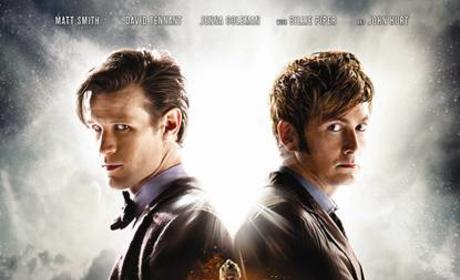 Doctor Who Anniversary Poster