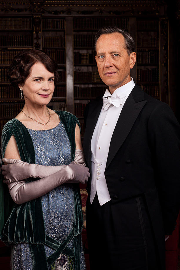 Cora and Simon - Downton Abbey