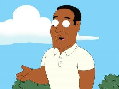 O.J. on Family Guy