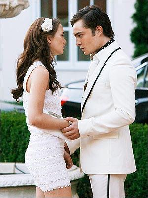 Chuck Bass and Blair Waldorf