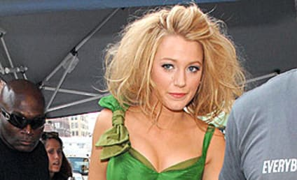 Blake Lively Lets Her Hair Down