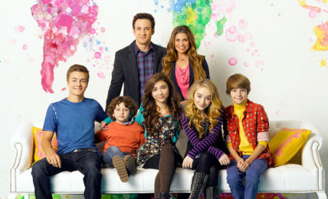 Girl Meets World Family Portrait