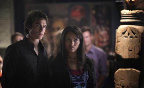 Damon and Bonnie Pic