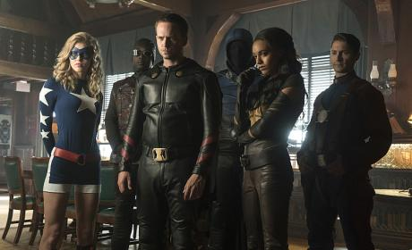 The Justice Society of America - DC's Legends of Tomorrow