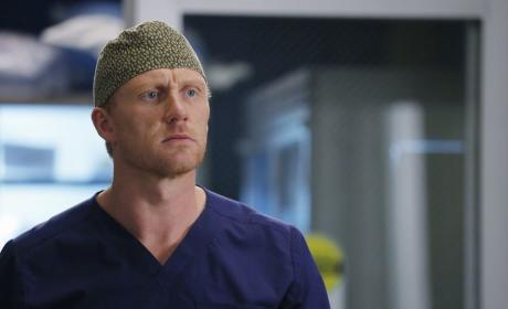 Unhappy Owen - Grey's Anatomy Season 12 Episode 7