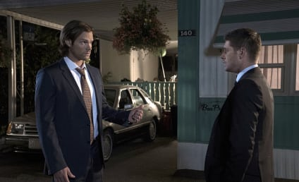 Supernatural Photo Preview: A Winchester Bro Moment