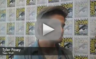 Tyler Posey Comic-Con Q&A