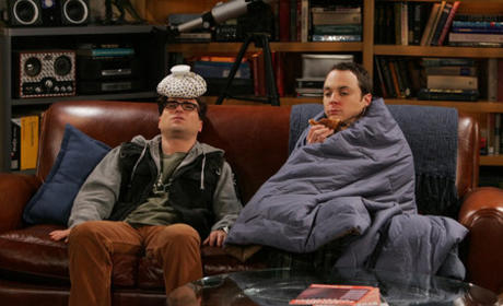 Sheldon and Leonard Sick