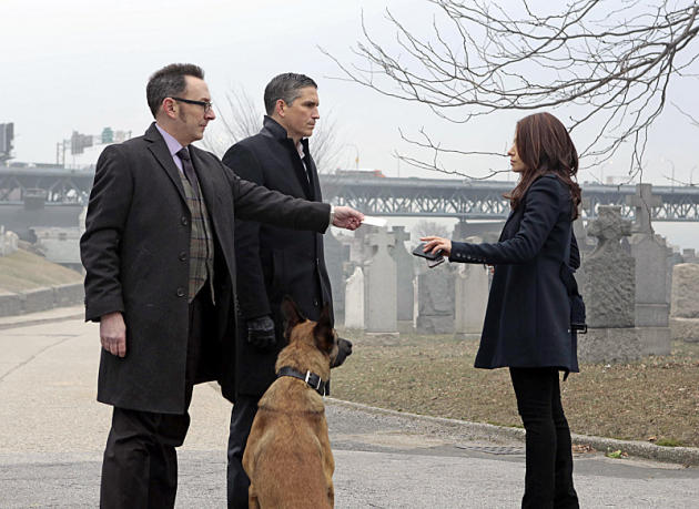 Finch, Reese, & the Government Agent