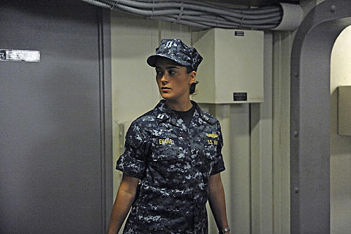 Ziva in Uniform