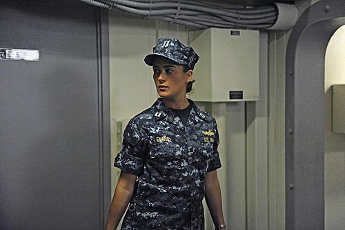 Ziva in Uniform
