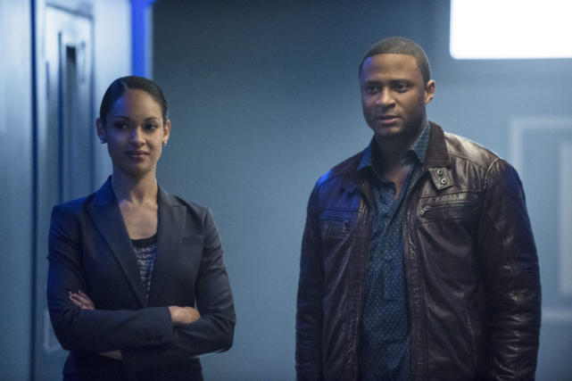 Amanda Waller and Diggle