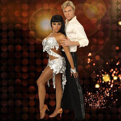 Lil Kim and Derek Hough Photo