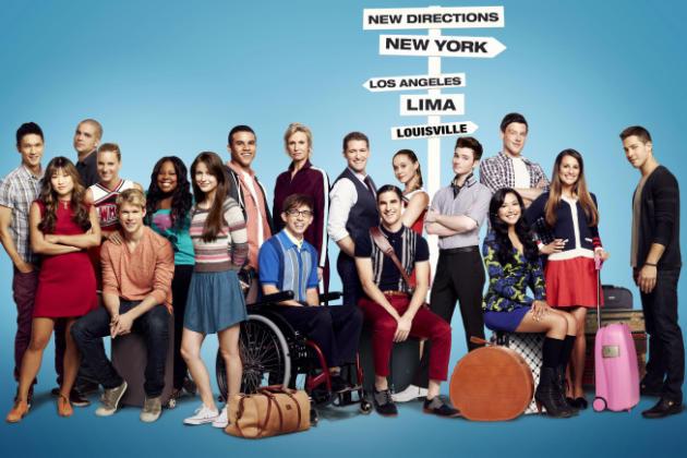Glee Season 4 Cast Pic