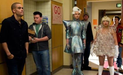 Glee Goes Gaga: Behind-the-Scenes Photos
