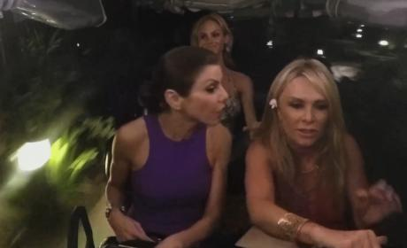 Danger In a Gold Cart - The Real Housewives of Orange County
