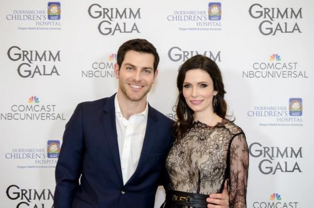 Bitsie Tulloch and david giuntoli interview
