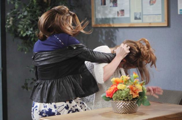 days of our lives photo preview catfight tv fanatic