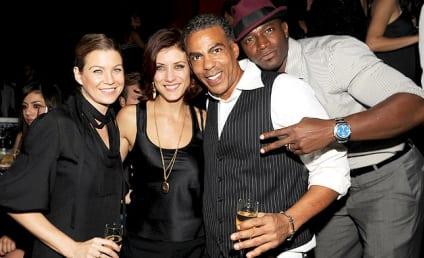 Kate Walsh, Taye Diggs and Pals Party On