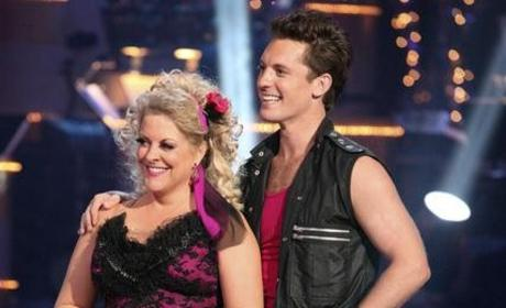 Nancy Grace and Tristan MacManus Photo