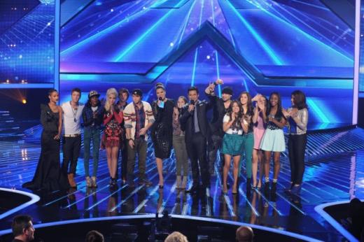The X Factor Final 8