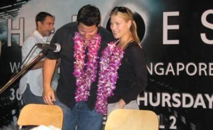Heroes Land in Singapore: Ali Larter Confides in Greg Grunberg