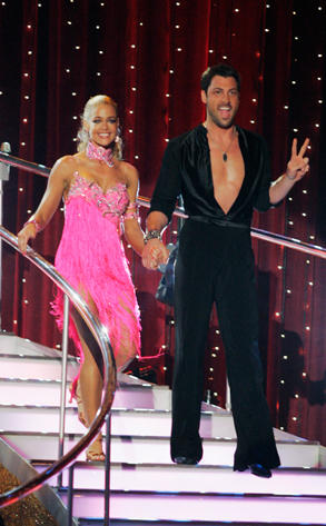 Denise Richards and Maksim Chmerkovskiy Intro