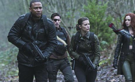Fearsome Foursome - Arrow Season 3 Episode 17