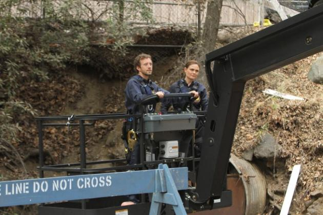 Hodgins and Brennan Image
