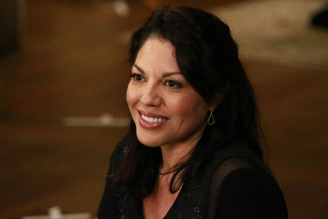 Happy callie greys anatomy s12e3