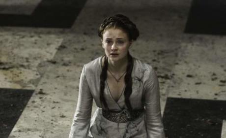 Sad Sansa Stark
