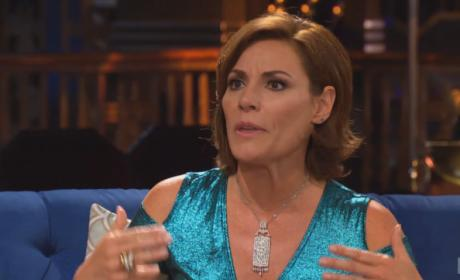 LuAnn's Mermaid Dress - The Real Housewives of New York City