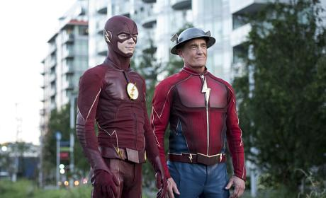 "The Flash Photos from ""Paradox"""