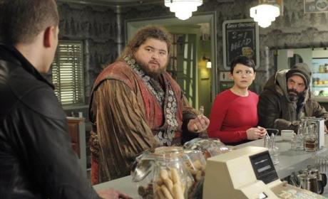 Giant in Storybrooke