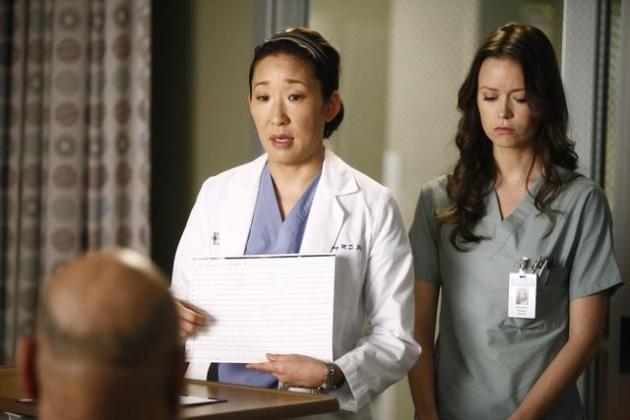 Summer Glau on Grey's Anatomy
