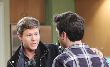 Will Pleads with Sonny - Days of Our Lives
