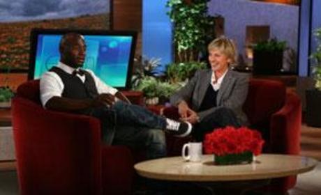 """Ellen DeGeneres Nicknames Taye Diggs """"McChocolatey"""""""