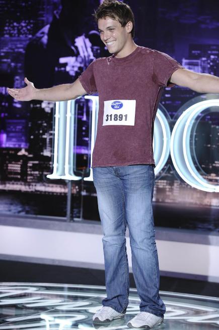 Johnny Keyser on American Idol