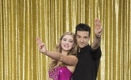 Willow Shields and Mark Ballas - Dancing With the Stars