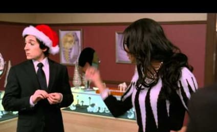 Another Glee Christmas Song: The Deleted Scene