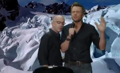 Jeff Winger and Dean Pelton - Kiss from a Rose