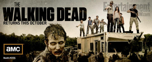 The Walking Dead Comic-Con Poster