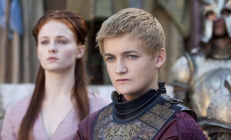 Joffrey and Sansa
