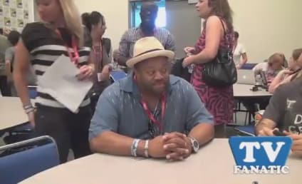 Mark Christopher Lawrence at Comic-Con: Back to Basics